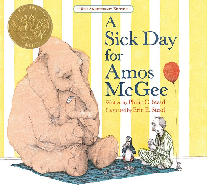 A Sick Day for Amos McGee children's book
