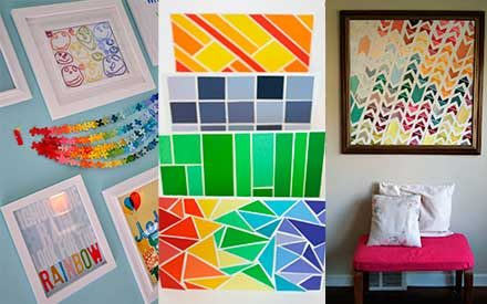 12 Pretty Ways to Upcycle Paint Chips