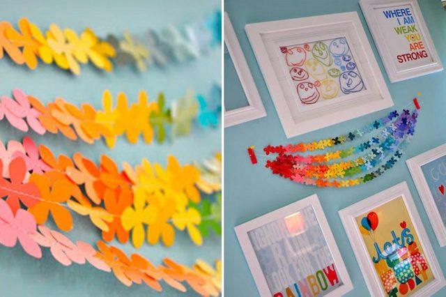 crafts-paint-chip-cards-little-bit-funky