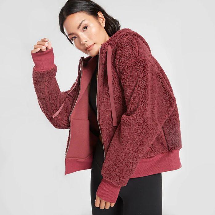 puffy sherpa jacket