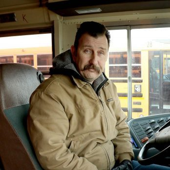 School Bus Driver Buys Hats and Gloves for Every Child on His Route