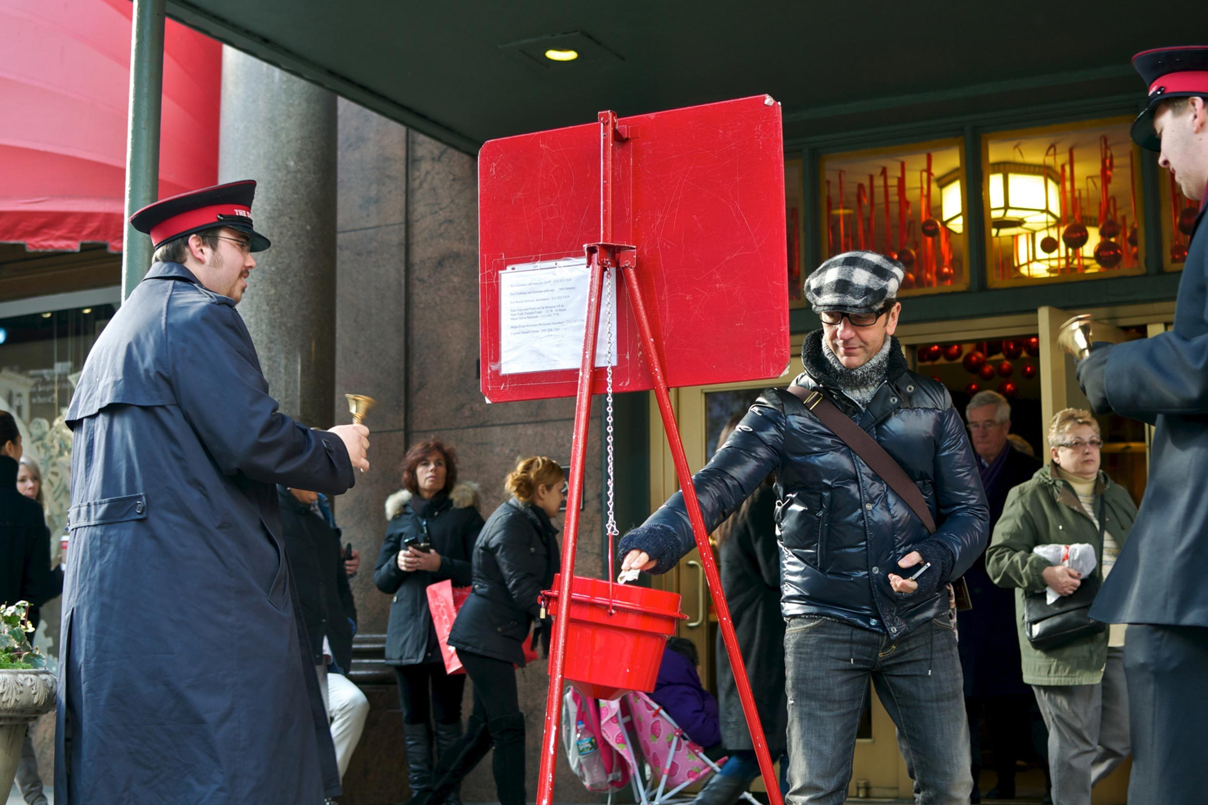 An Anonymous Samaritan Won the Lottery and Donated the Earnings to a Salvation Army Red Kettle