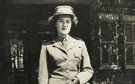 She Couldn't Serve in the U.S. Army in the 1940s. So She Joined the Canadian Women's Army Corps.