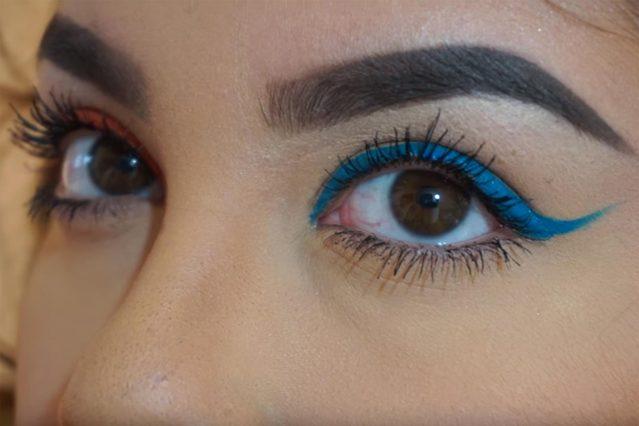 gorgeous-eyeliner-looks-beyond-basic-black-daniela-loredo