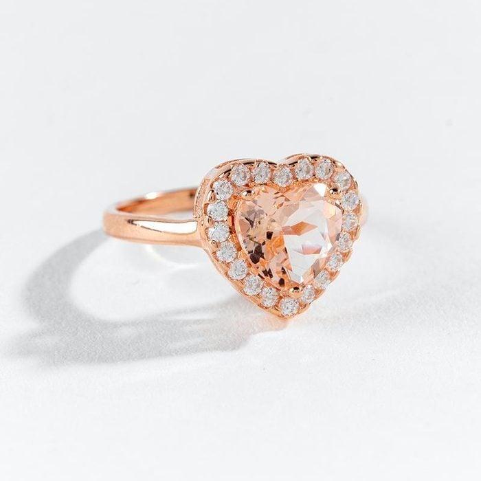 heart ring rose gold