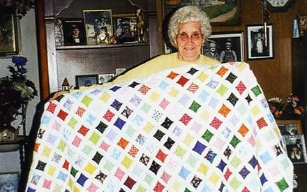This Quilt Is an Amazing Final Tribute to the Woman Who Sewed Everything