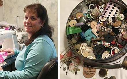 The Most Beautiful Life Story Lies in This Woman's Button Box