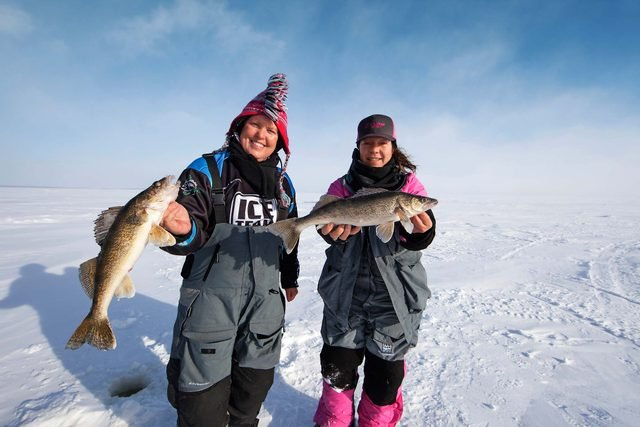 A Women-Only Fishing Group Finds Frozen Fun And Plenty Of Friendly Support On The Ice