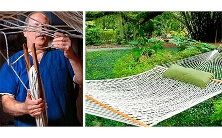 This Craftsman Has Made 145,000 Hammocks in 30 Years. Did We Mention He's Blind?