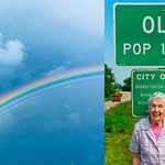 The Stunning Rainbow Is Only One of the Reasons This Woman Is So Adorably Happy