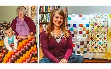An Inspiring Story of Strength, As Told By An Imperfect Quilt