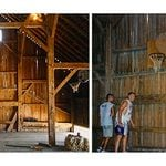 Behold, the Old Barn that Was Transformed into a Basketball Court