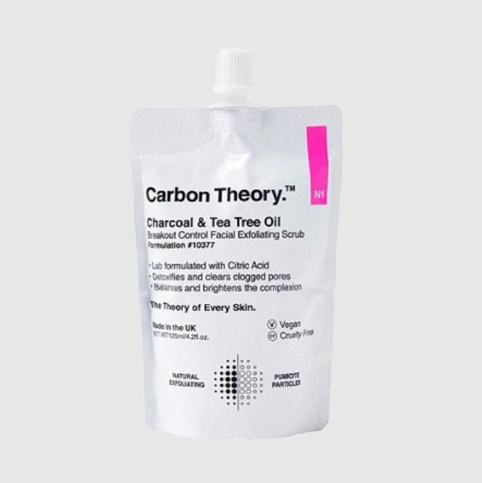Carbon Theory. Charcoal & Tea Tree Oil Breakout Control Facial Exfoliating Scrub