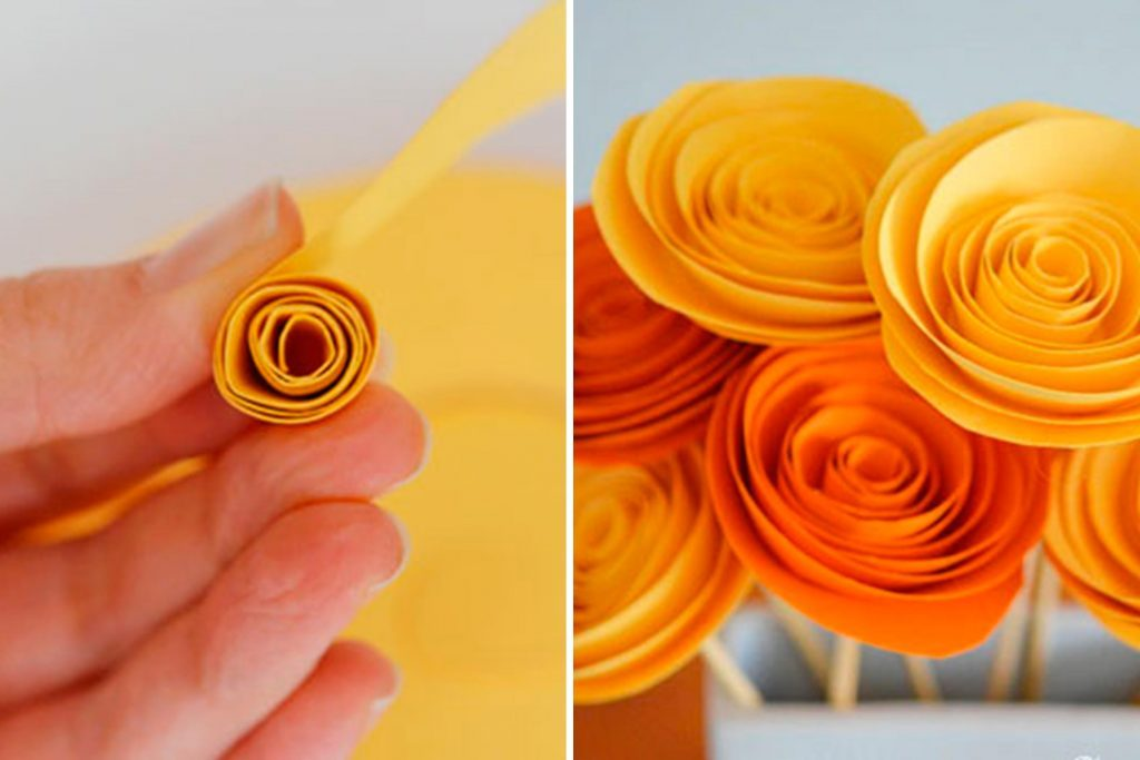 Paper flower craft to make your home feel like spring readers digest courtesy one little project mightylinksfo