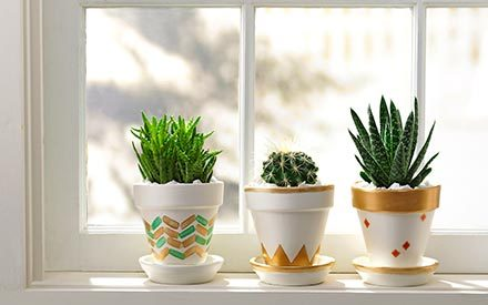 The Easy Way to Turn Clay Pots into These Gorgeous Statement Pieces