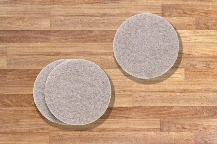 Invest in furniture pads