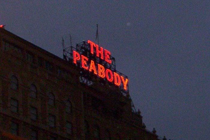 Peabody Hotel Sign, Memphis TN