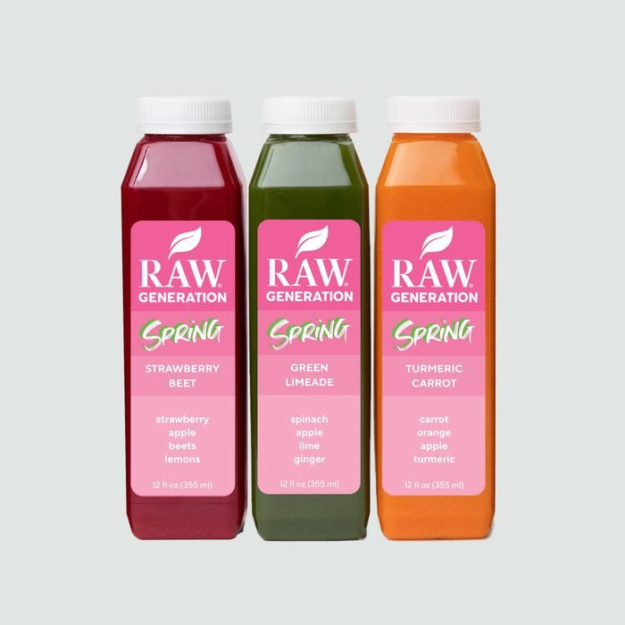 raw generation juice