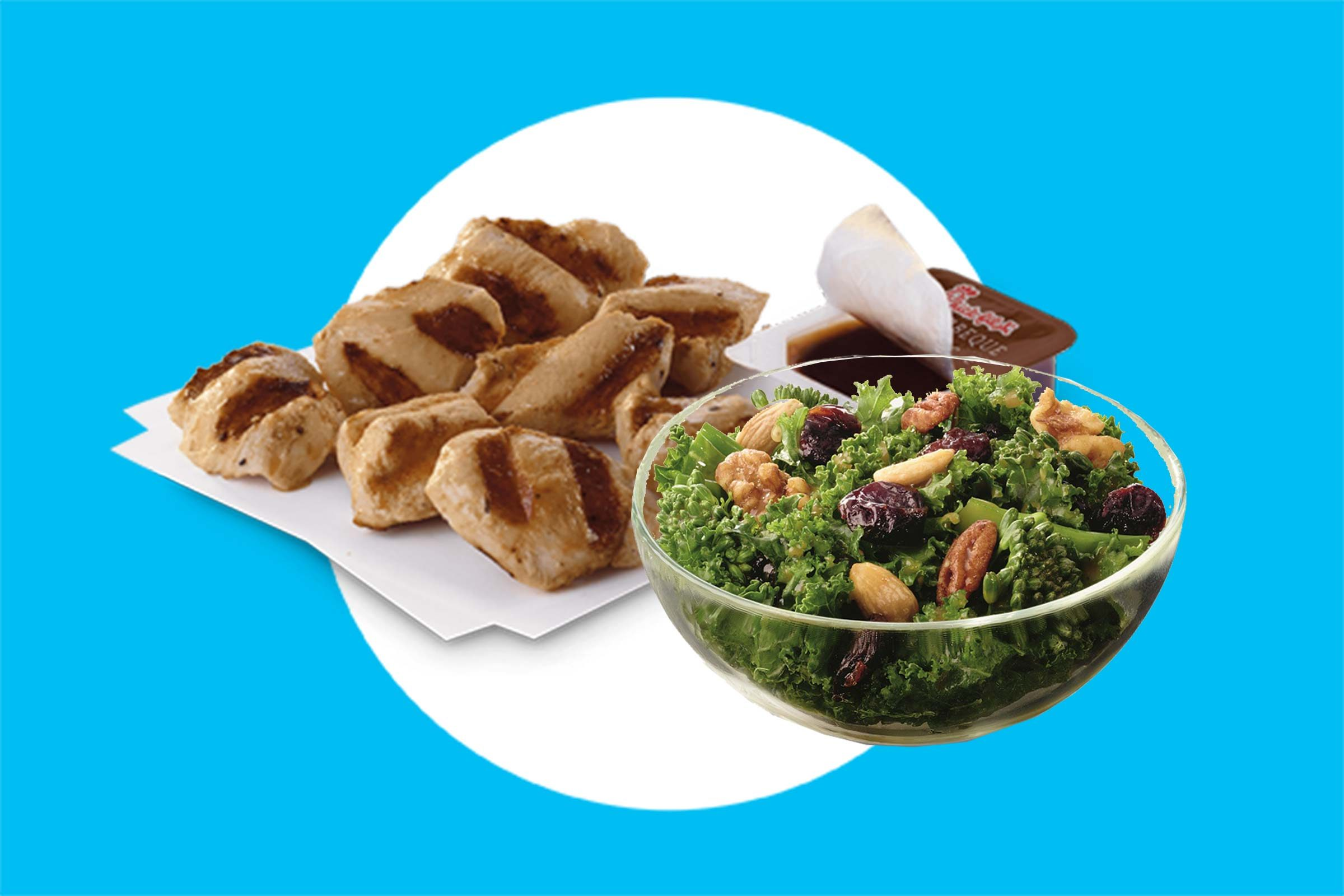 Chic-fil-A-Grilled-Chicken-Nuggets-with-Kale-Salad