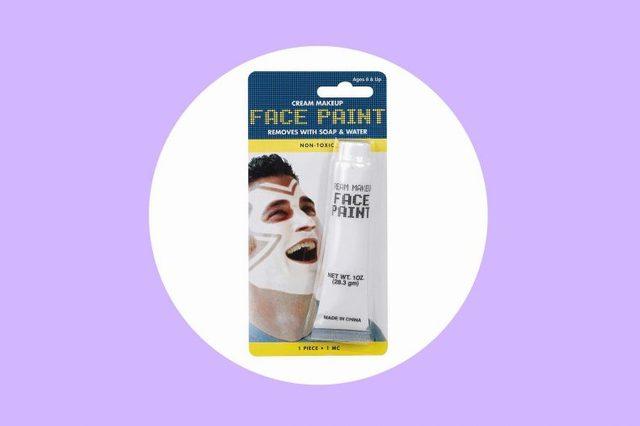 white-face-paint