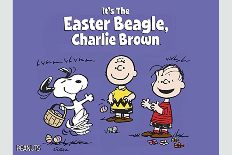 the easter beagle charlie brown