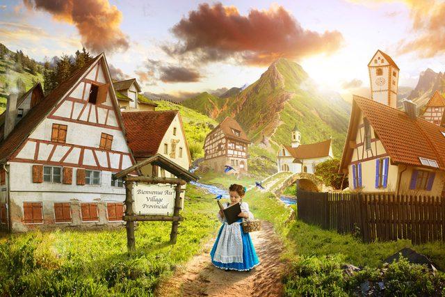 BeautyAndBeast_Provincial-village