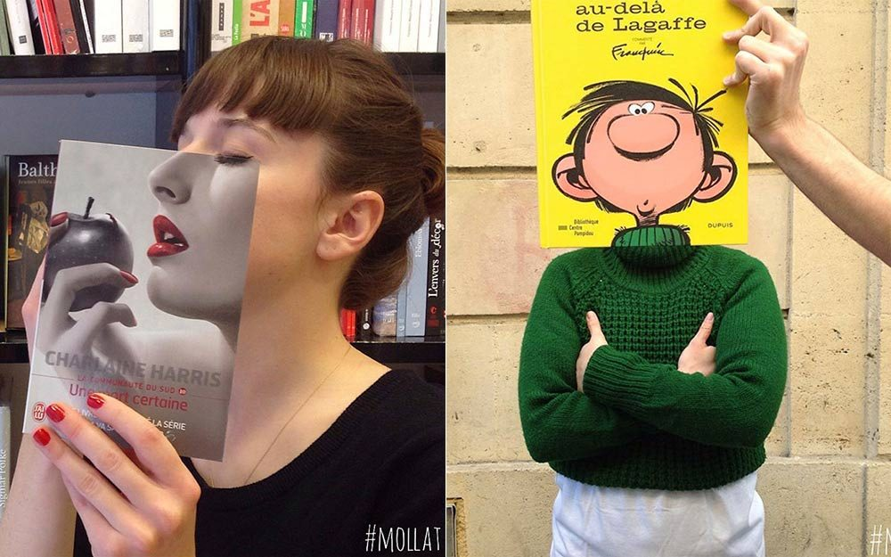Here's What Happens When Bookstore Employees Get Bored