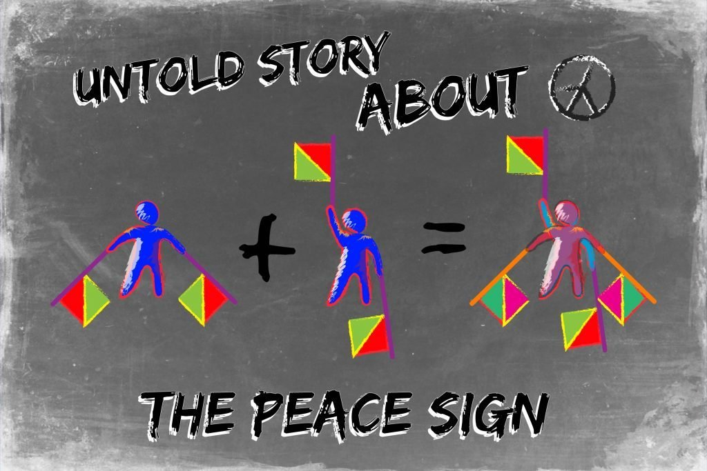 Dark untold meaning behind the peace sign