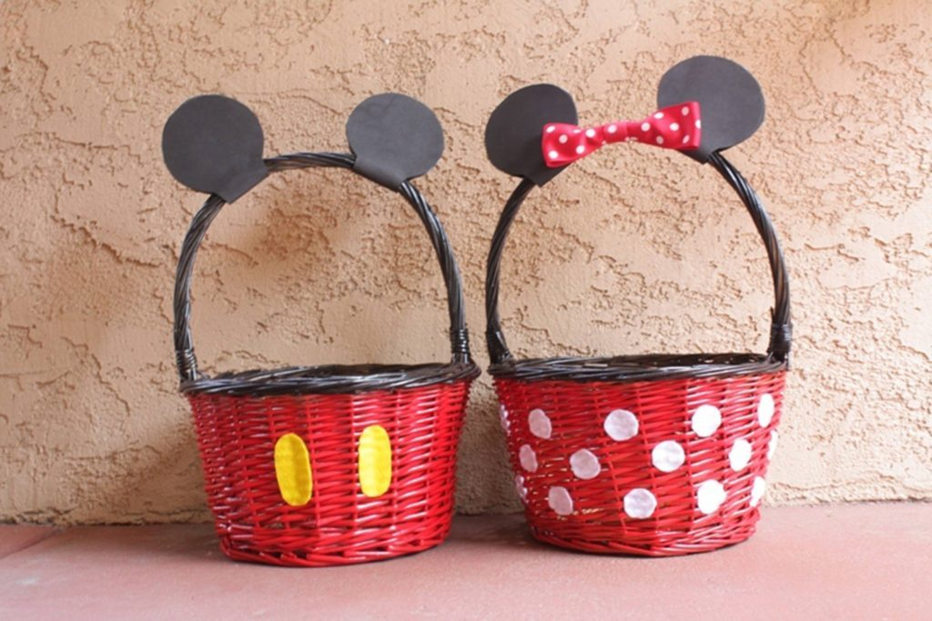 15 easter basket ideas that are easy fun creative readers digest easter baskets disney mindy marzec this fairy tale negle Gallery