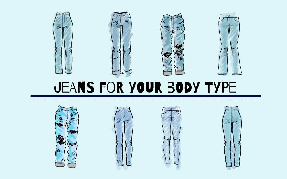 How To Find The Best Jeans For Your Body Type Reader S Digest