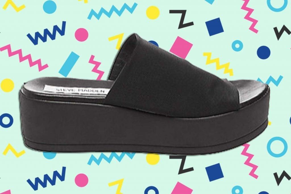 80635822fecc Steve Madden Brings Back  90s Platform Sandals