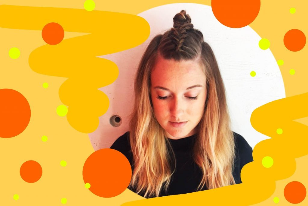 Hairstyles-For-When-It's-Way-Too-Hot-Outside