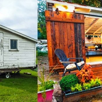 An Old Chicken Coop Becomes a Stunning Shed in This Unbelievable Makeover
