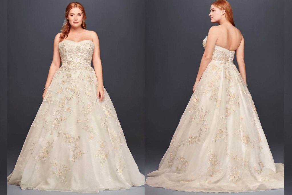 The best wedding dress for your body type reader 39 s digest for Wedding dresses for big hips