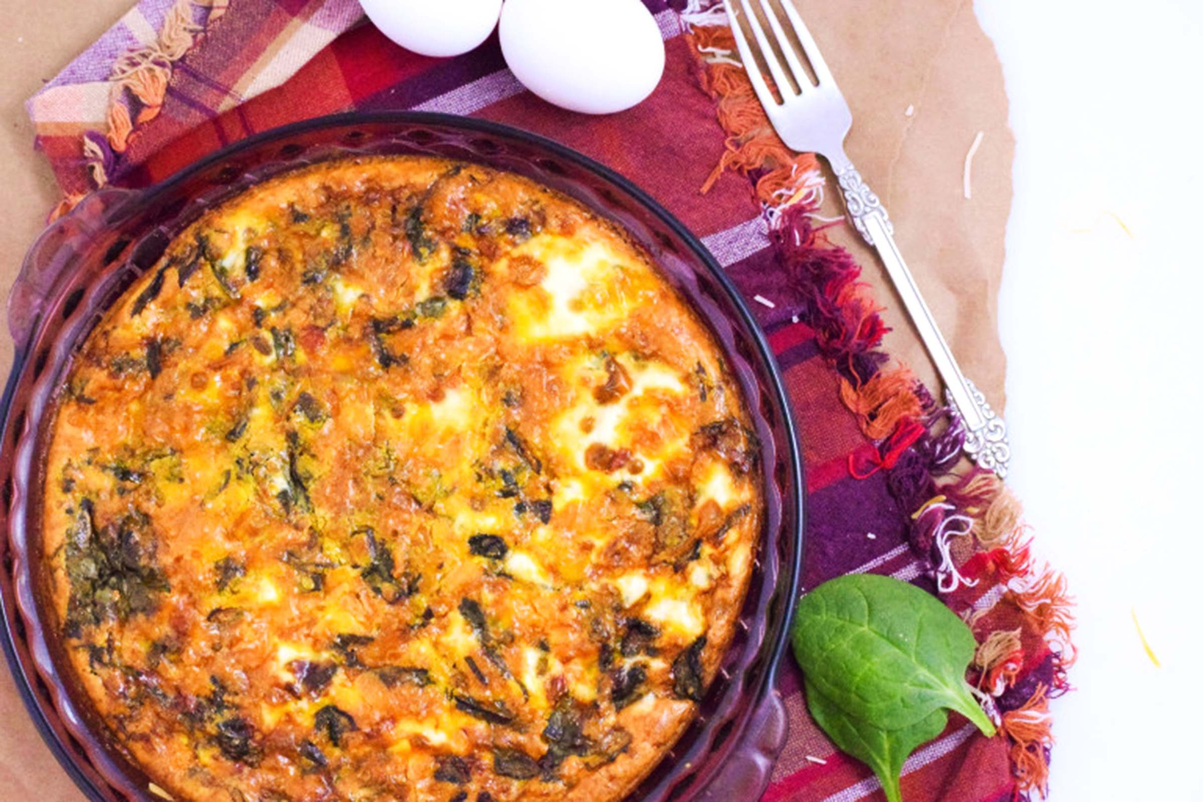 Veggie-Lovers-Crustless-Quiche