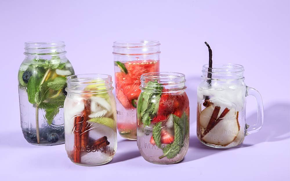 Natural Flavored Water Recipes To Mix Up Yourself