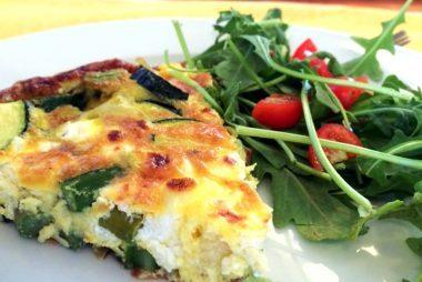 Asparagus-Zucchini-Frittata