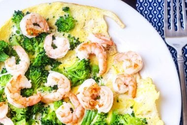 Shrimp-and-Broccoli-Omelet