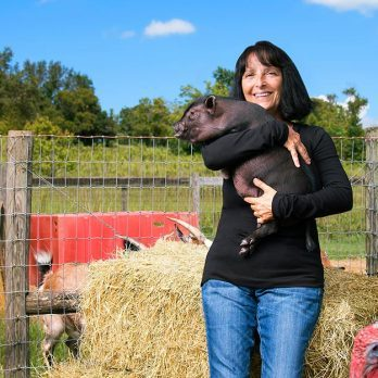 This Woman's Animal Sanctuary Has Rescued Over 300 Animals