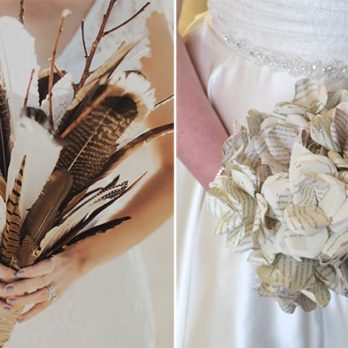 10 Wedding Bouquets That Don't Need Flowers to Be Gorgeous
