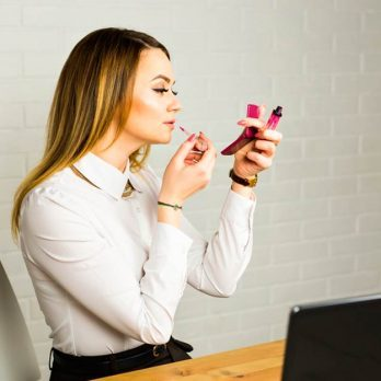 Applying Makeup at Your Desk? The 8 Gross Things You Didn't Realize You're Doing