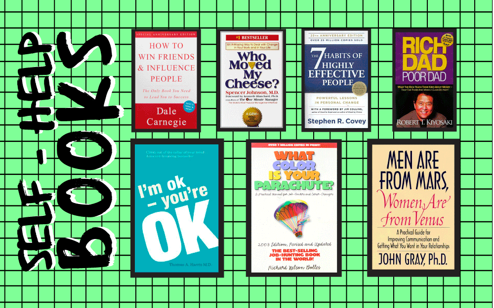 The 7 Most Influential Self-Help Books of All Time