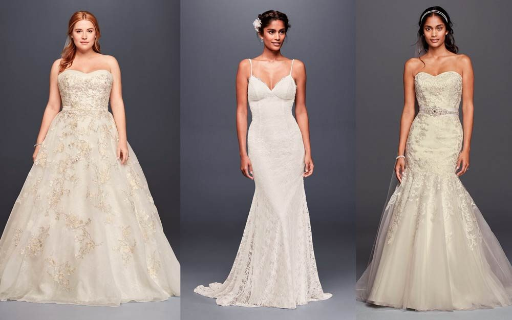 The Best Wedding Dress For Your Body Type Reader S Digest