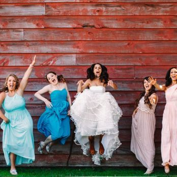 Getting Hitched? Here's What Your Bridesmaids' Dress Color Says About You