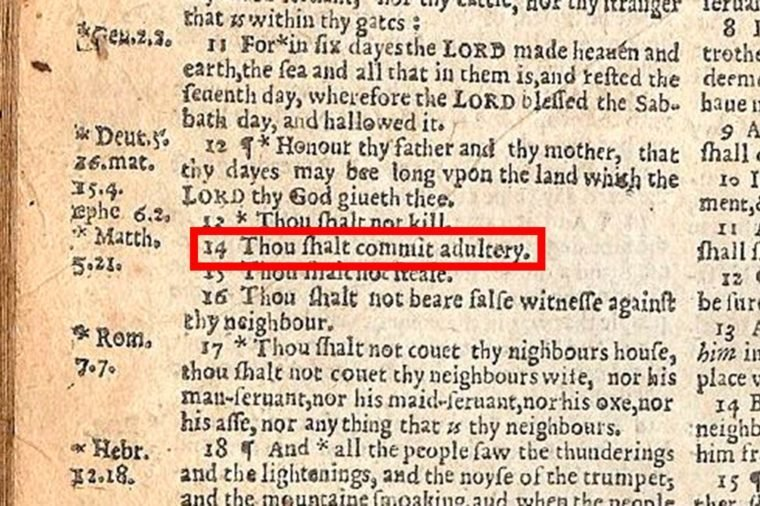 01-A-Typo-in-The-Bible-Made-Adultery-Mandatory