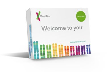 Courtesy, 23 And MeHis roots are your roots, too, so investing in a DNA  testing kit to test both ancestry and health will pay family dividends for  years to ...