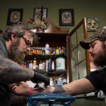 The Tattoo Artist Covering Up People's Dark Past