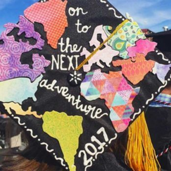 What These 20 Instagrammers Are Doing to Decorate Their Graduation Caps Will Astound You
