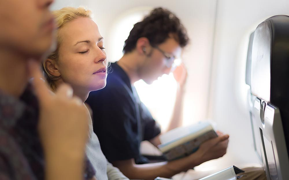 How To Be Comfortable On An Airplane Reader S Digest