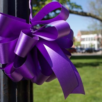 An Entire Town Painted Itself Purple Overnight for the Sweetest Reason